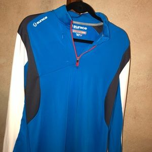Blue Performance Pullover